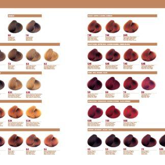 Luxury colour chart