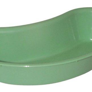 Kidney Dish Plastic Green